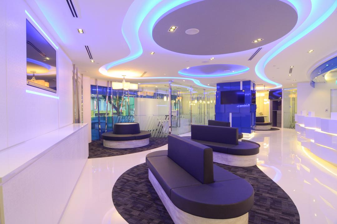 Money Express @Sim Lim Tower, Anhans Interior Design, Modern, Commercial, Indoors, Interior Design, Lighting, Lobby, Room