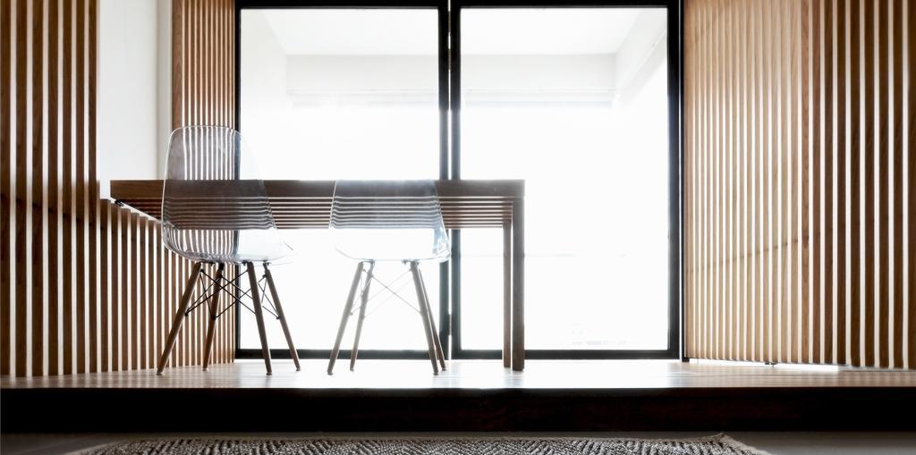 Minimalistic, Condo, Balcony, TT Apartment, Architect, 0932 Design Consultants, Chair, Furniture