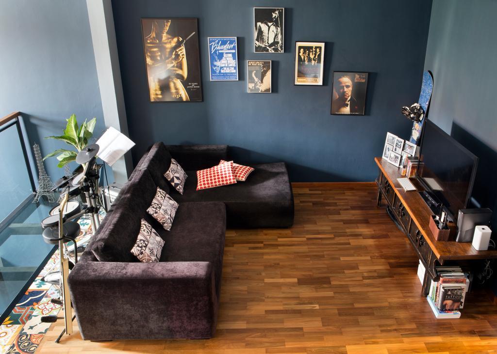 Eclectic, Landed, Eastwood Green, Interior Designer, The Scientist, Couch, Furniture, Flora, Jar, Plant, Potted Plant, Pottery, Vase, Bedroom, Indoors, Interior Design, Room, Living Room