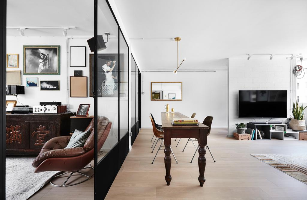 Transitional, HDB, Dining Room, Ubi Avenue, Interior Designer, Third Avenue Studio, Chair, Furniture, Dining Table, Table, Couch
