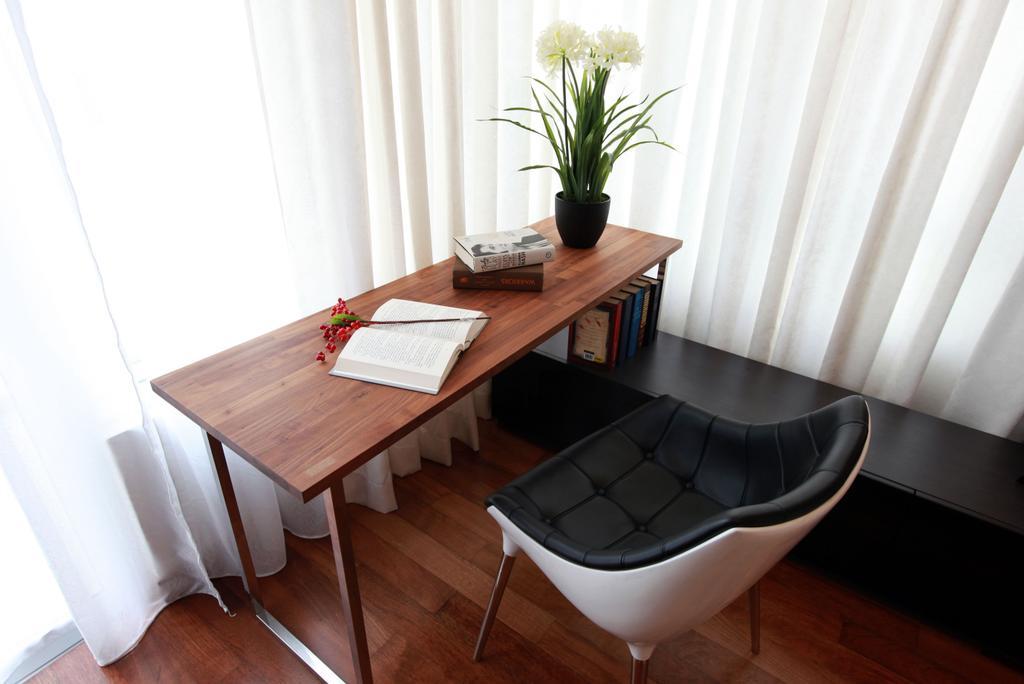 Contemporary, Landed, Bedroom, Gan One Legenda Residence, Interior Designer, Turn Design Interior, Flora, Jar, Plant, Potted Plant, Pottery, Vase, Dining Table, Furniture, Table