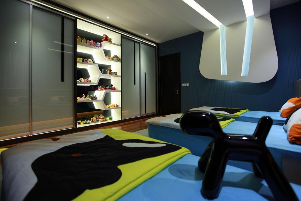 Contemporary, Landed, Bedroom, Gan One Legenda Residence, Interior Designer, Turn Design Interior, Chair, Furniture