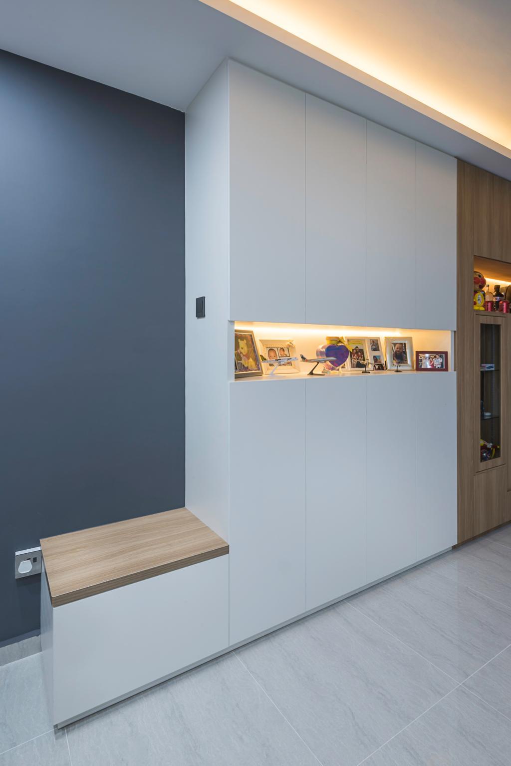 Scandinavian, HDB, Living Room, Clementi Avenue 4 (Block 312C), Interior Designer, IdeasXchange, Traditional