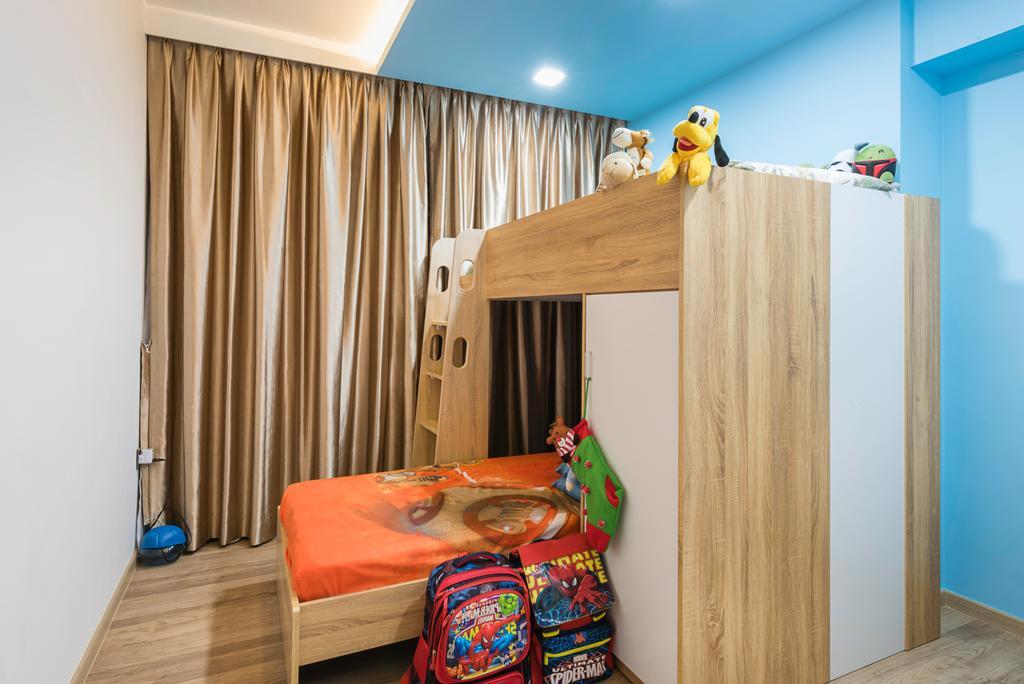 Scandinavian, HDB, Bedroom, Clementi Avenue 4 (Block 312C), Interior Designer, IdeasXchange, Traditional