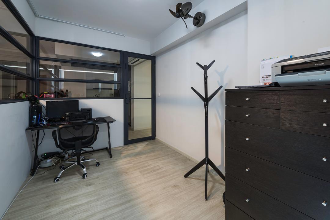 Sumang Walk (Block 217C), IdeasXchange, Modern, Study, HDB, Machine, Printer