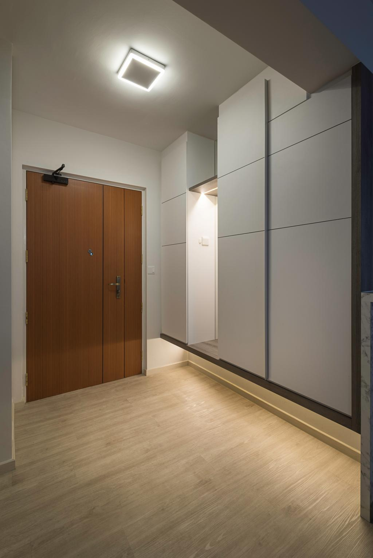Modern, HDB, Living Room, Sumang Walk (Block 217C), Interior Designer, IdeasXchange