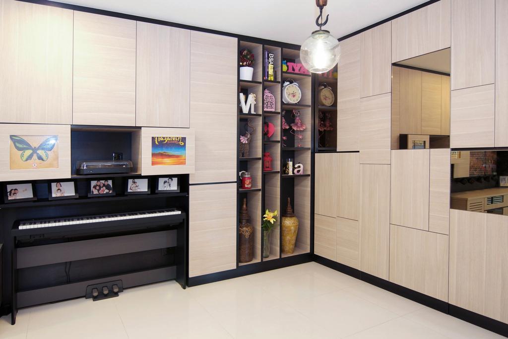 Minimalistic, HDB, Living Room, The Pinnacle@Duxton, Interior Designer, Seven Heaven, Indoors, Interior Design