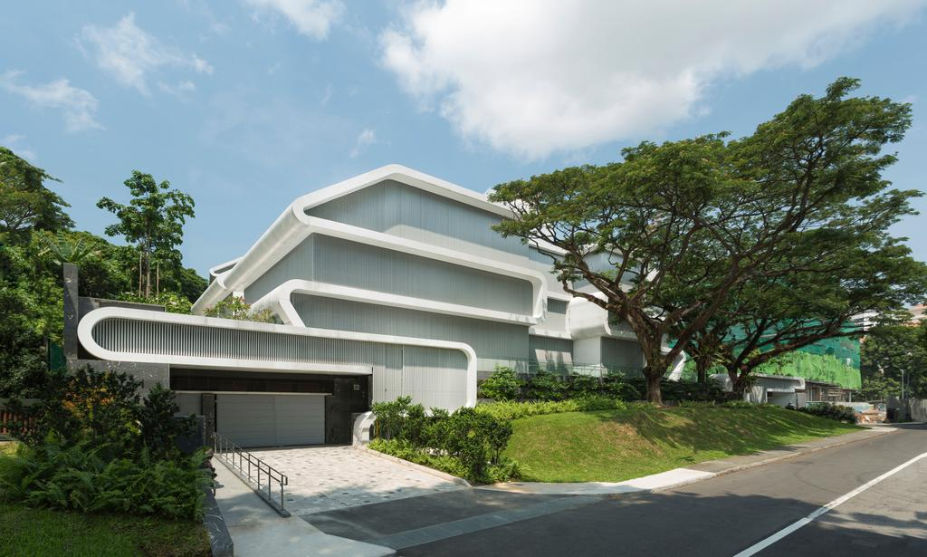 Contemporary, Landed, Oxley Residence, Architect, LAUD Architects, Apartment Building, Building, City, High Rise, Town, Urban