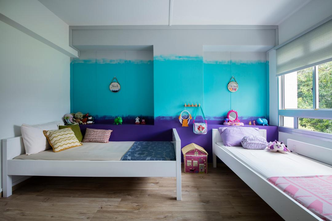 Pasir Ris Street 21, Free Space Intent, Eclectic, Bedroom, HDB, Kids, Kids Room, Kids Room, Indoors, Interior Design
