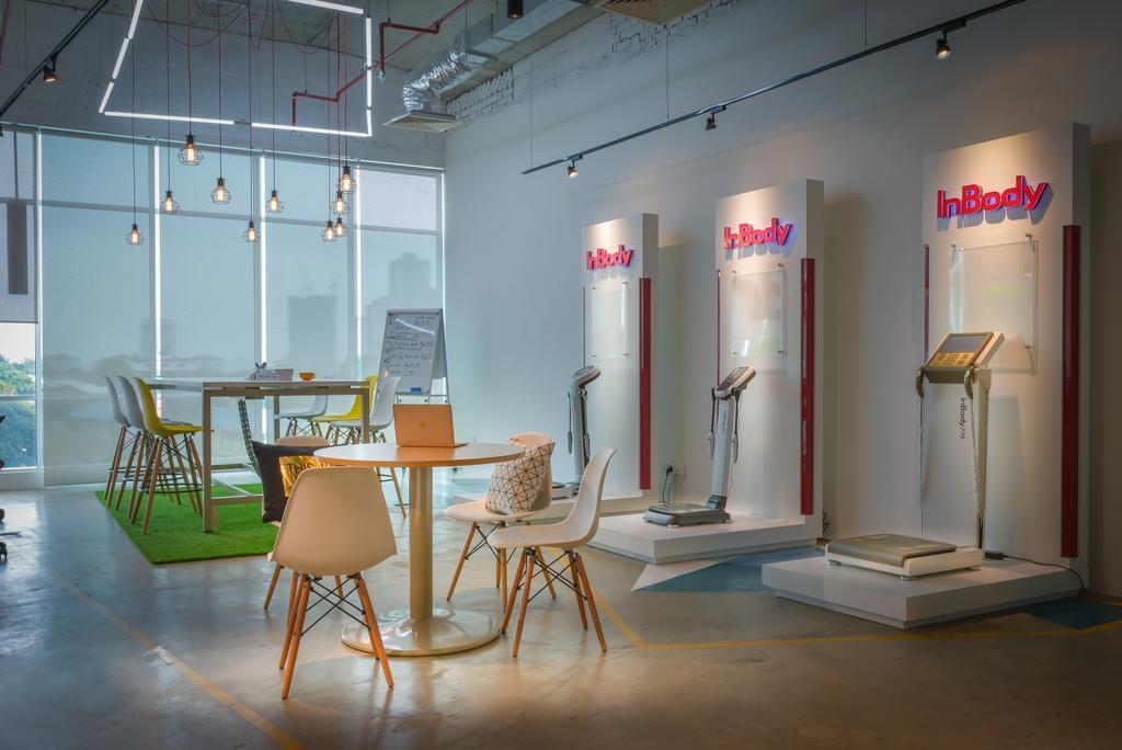 Inbody Asia, Commercial, Interior Designer, Dot Works, Modern, Chair, Furniture