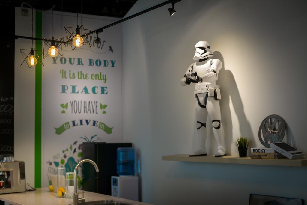 Inbody Asia, Commercial, Interior Designer, Dot Works, Modern, Robot