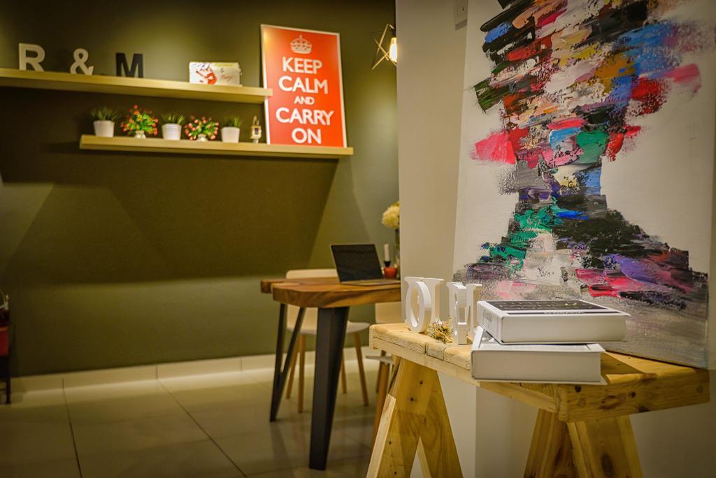 Contemporary, Condo, Glomac Damansara, Interior Designer, Dot Works, Chair, Furniture, Dining Table, Table