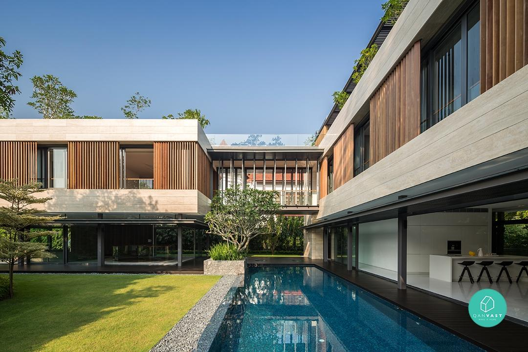7 Sleek and Suave Architectural Beauty For Singapore Homes