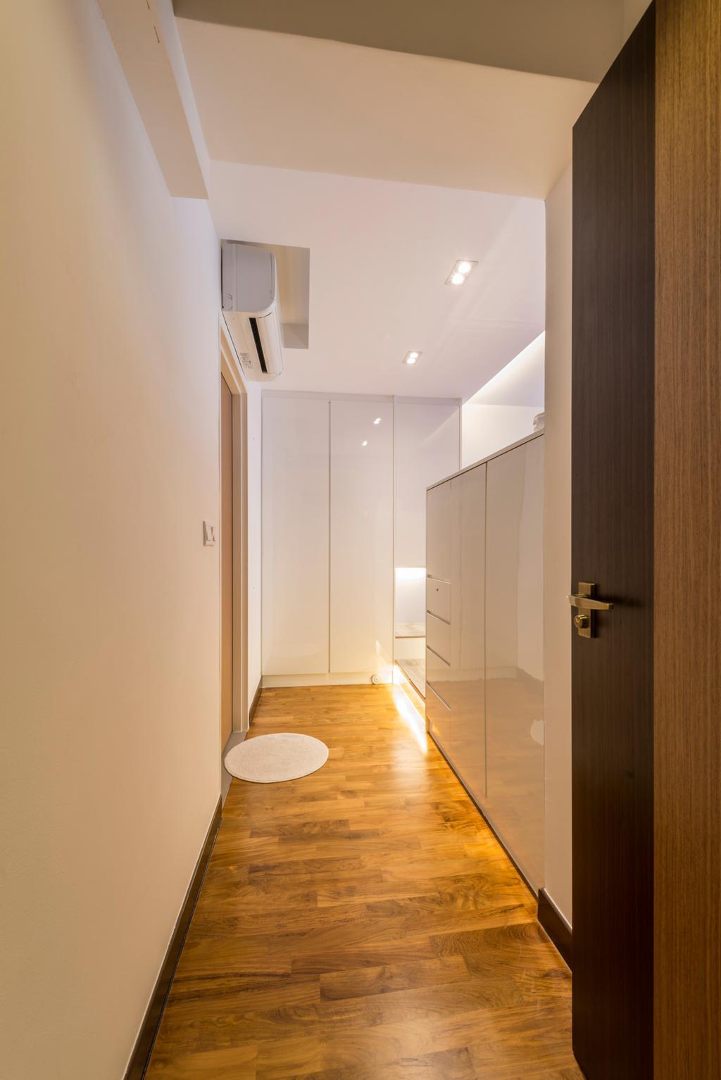 Modern, HDB, Bedroom, Compassvale Crescent, Interior Designer, Starry Homestead, Flooring, Indoors, Interior Design