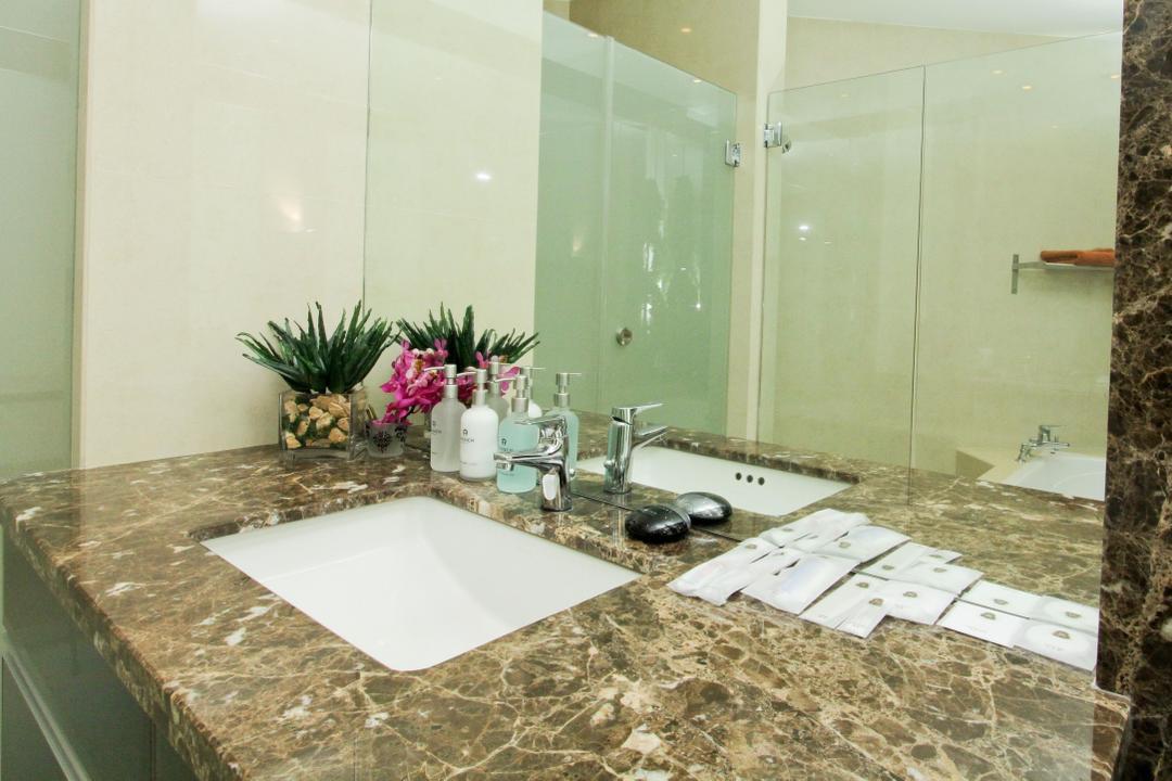 Marc Residence @ KLCC Unit B, Quest Designs, Modern, Bathroom, Condo, Sink, Aluminium, Can, Milk Can, Tin