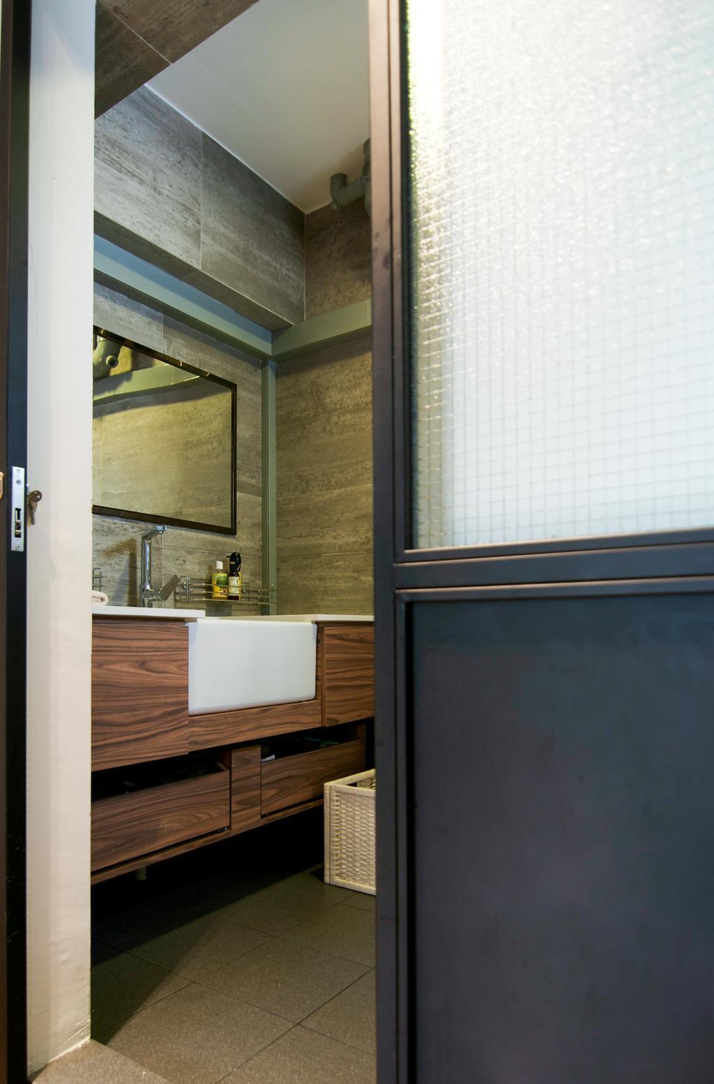 Scandinavian, HDB, Bathroom, Cantonment Close, Interior Designer, Seven Heaven