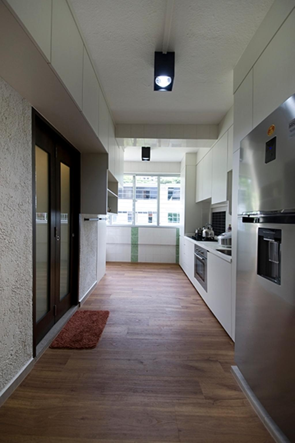 Minimalistic, HDB, Kitchen, Lim Liak Street, Interior Designer, Space Factor