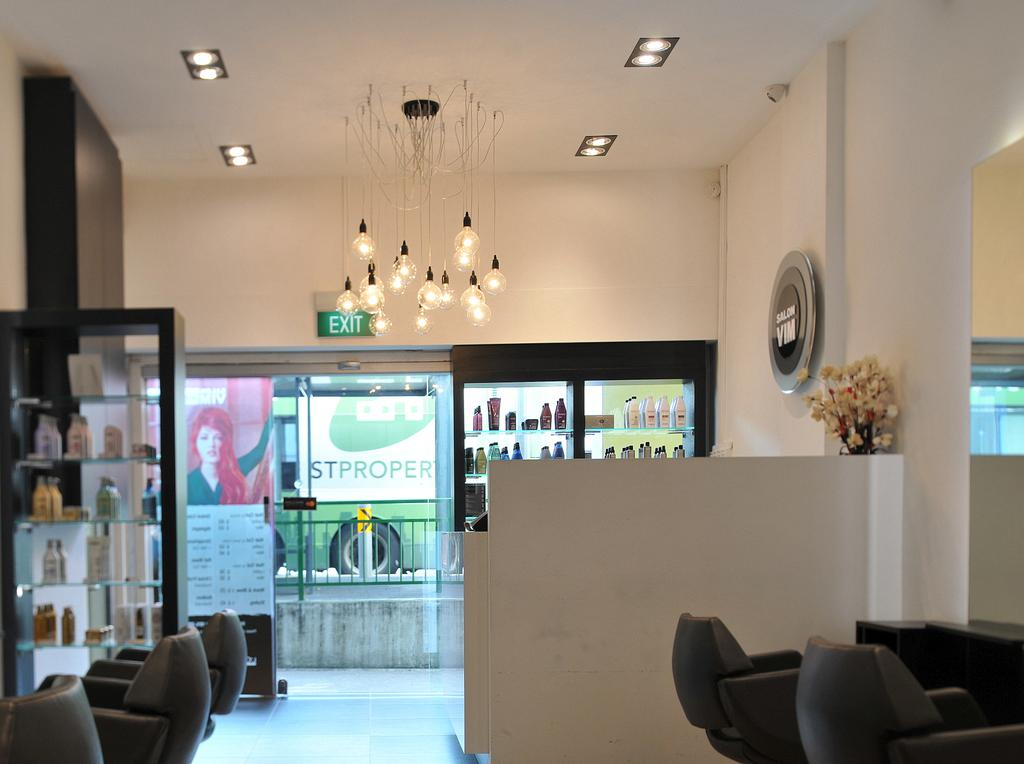 Salon Vim (Victoria Street), Commercial, Interior Designer, Seven Heaven, Modern, Indoors, Interior Design, Dining Room, Room