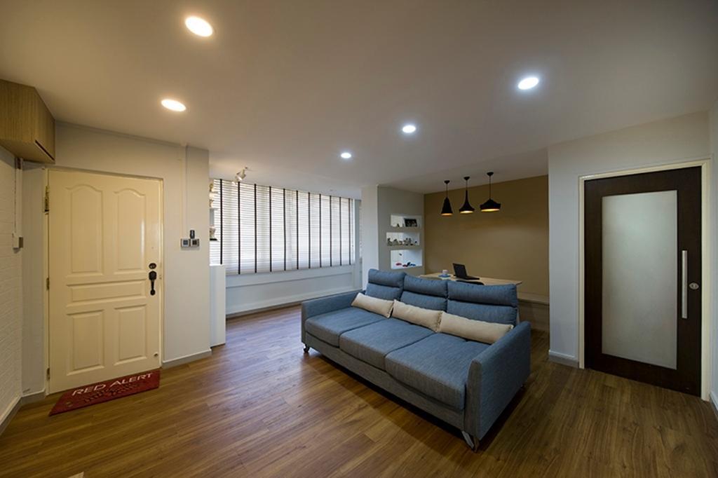 Minimalistic, HDB, Living Room, Lim Liak Street, Interior Designer, Space Factor