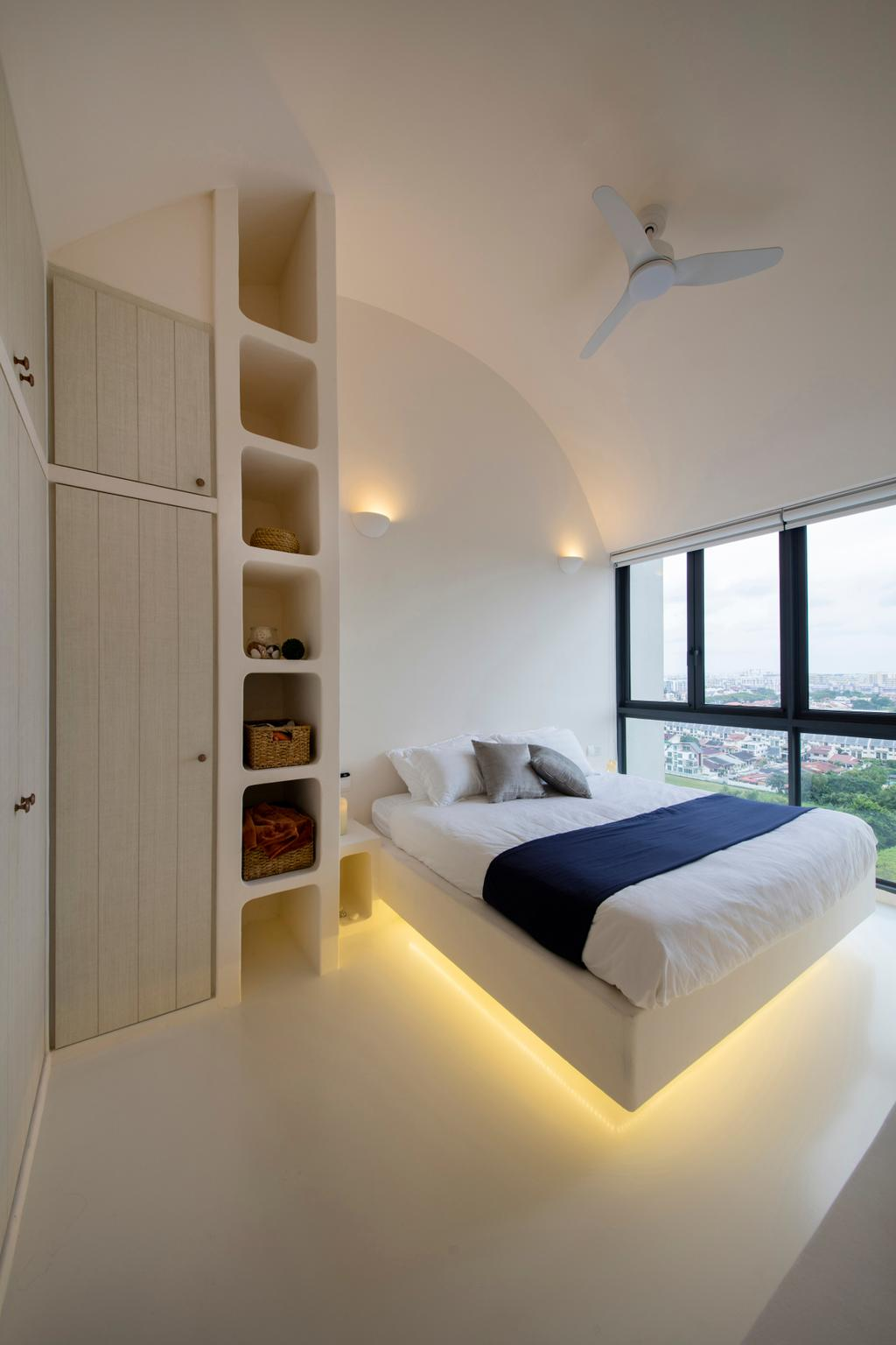 Eclectic, Condo, Bedroom, Skypark Residences, Interior Designer, Edge Interior, Bed, Furniture, Indoors, Interior Design, Room