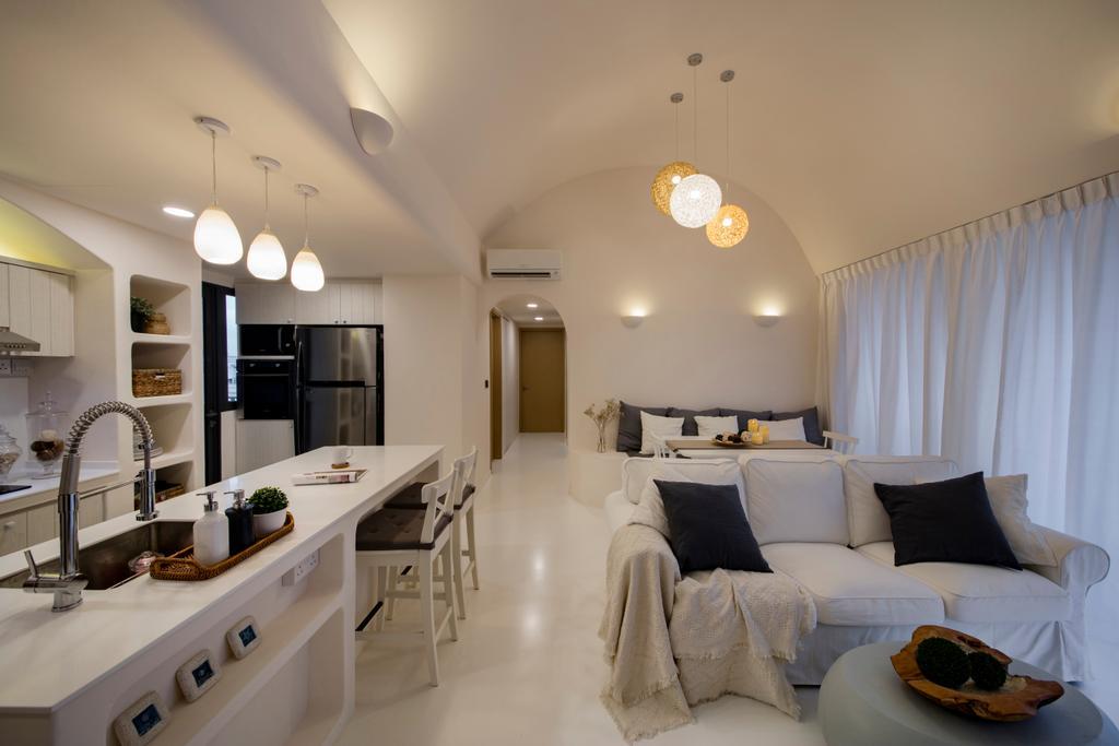 Eclectic, Condo, Skypark Residences, Interior Designer, Edge Interior, Indoors, Interior Design, Room