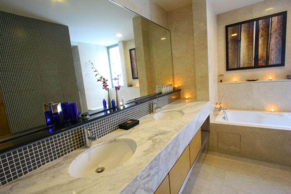 Modern, Condo, Bathroom, Il Hampshire, Interior Designer, Quest Designs, Indoors, Interior Design, Room, Fireplace, Hearth