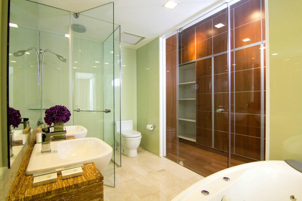 Contemporary, Condo, Bathroom, ViPod Residences, Interior Designer, Quest Designs, Indoors, Interior Design, Room