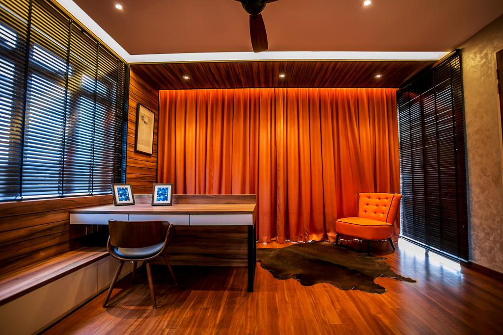 Landed, Bedroom, Akira Sierra, Interior Designer, M innovative Builders, Chair, Furniture, Indoors, Interior Design