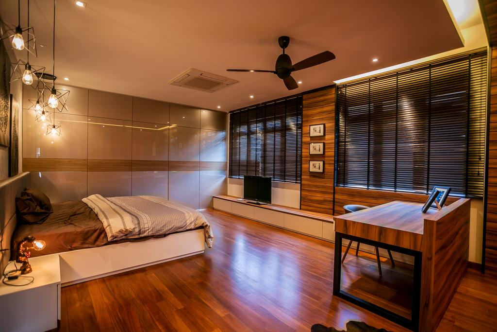 Landed, Bedroom, Akira Sierra, Interior Designer, M innovative Builders, Bed, Furniture, Indoors, Interior Design