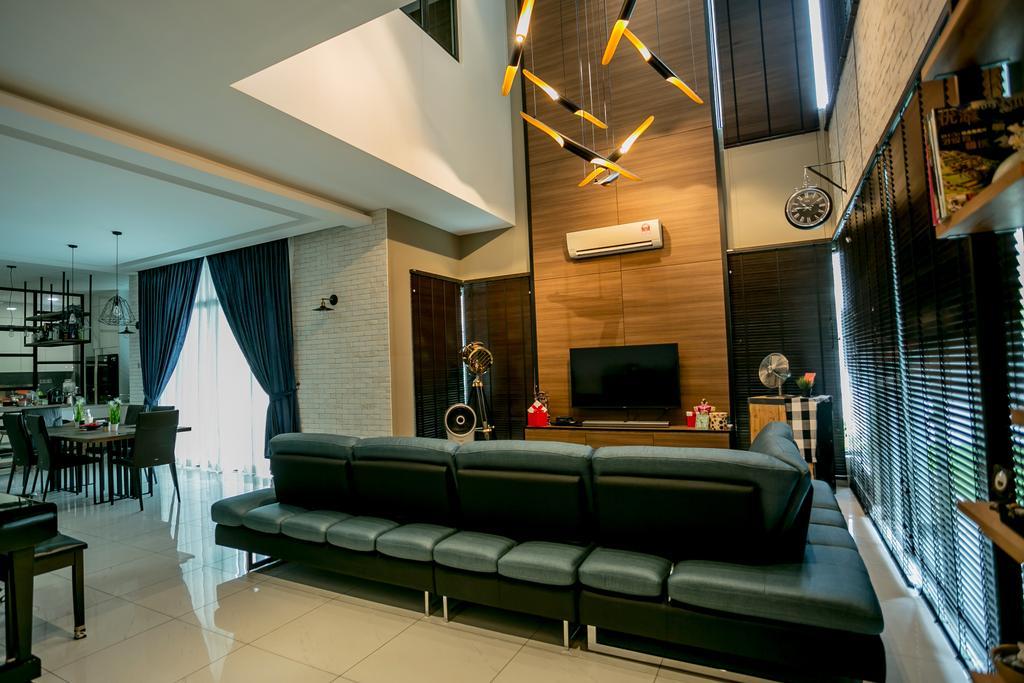 Landed, Living Room, Akira Sierra, Interior Designer, M innovative Builders, Couch, Furniture, Chair, Bench, Banister, Handrail, Staircase, Indoors, Interior Design