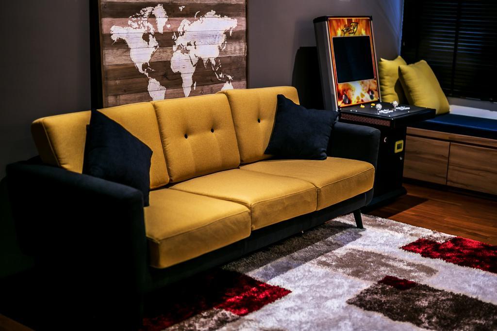 Landed, Living Room, Akira Sierra, Interior Designer, M innovative Builders, Couch, Furniture, Fireplace, Hearth
