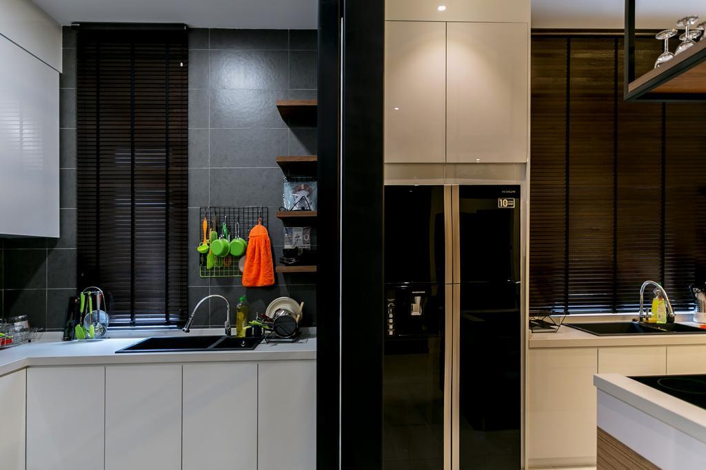 Landed, Kitchen, Akira Sierra, Interior Designer, M innovative Builders, Sink, Indoors, Interior Design, Room