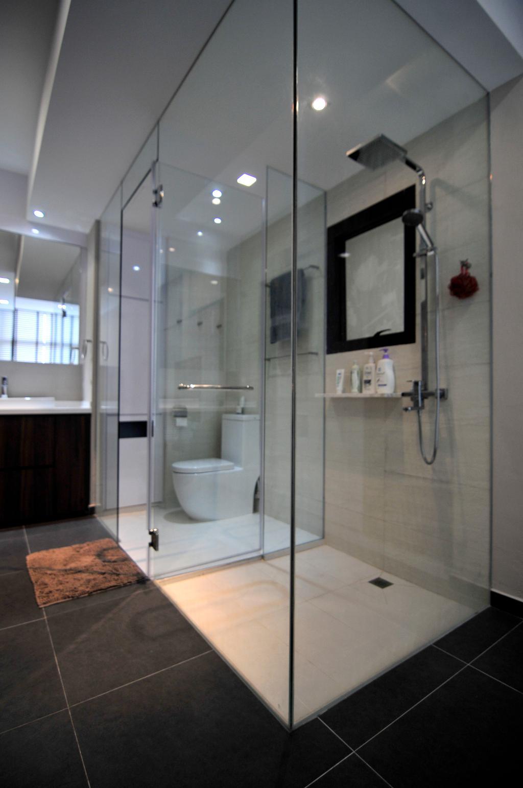 Modern, Condo, Bathroom, River Place, Interior Designer, Seven Heaven, Indoors, Interior Design, Room