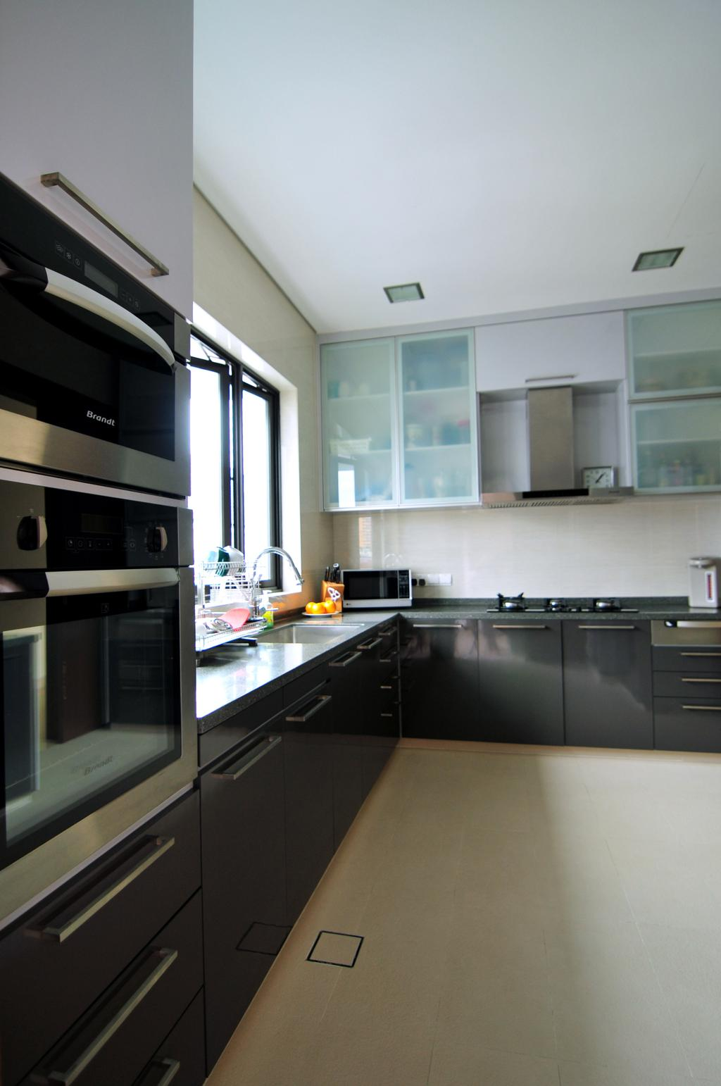 Modern, Landed, Kitchen, Joo Chiat Lane, Interior Designer, Seven Heaven, Indoors, Interior Design, Room