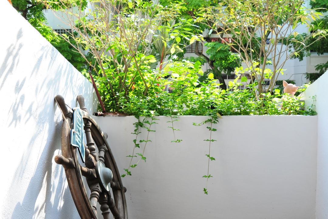 Clementi Park, Seven Heaven, Contemporary, Condo, Garden, Gardening, Outdoors