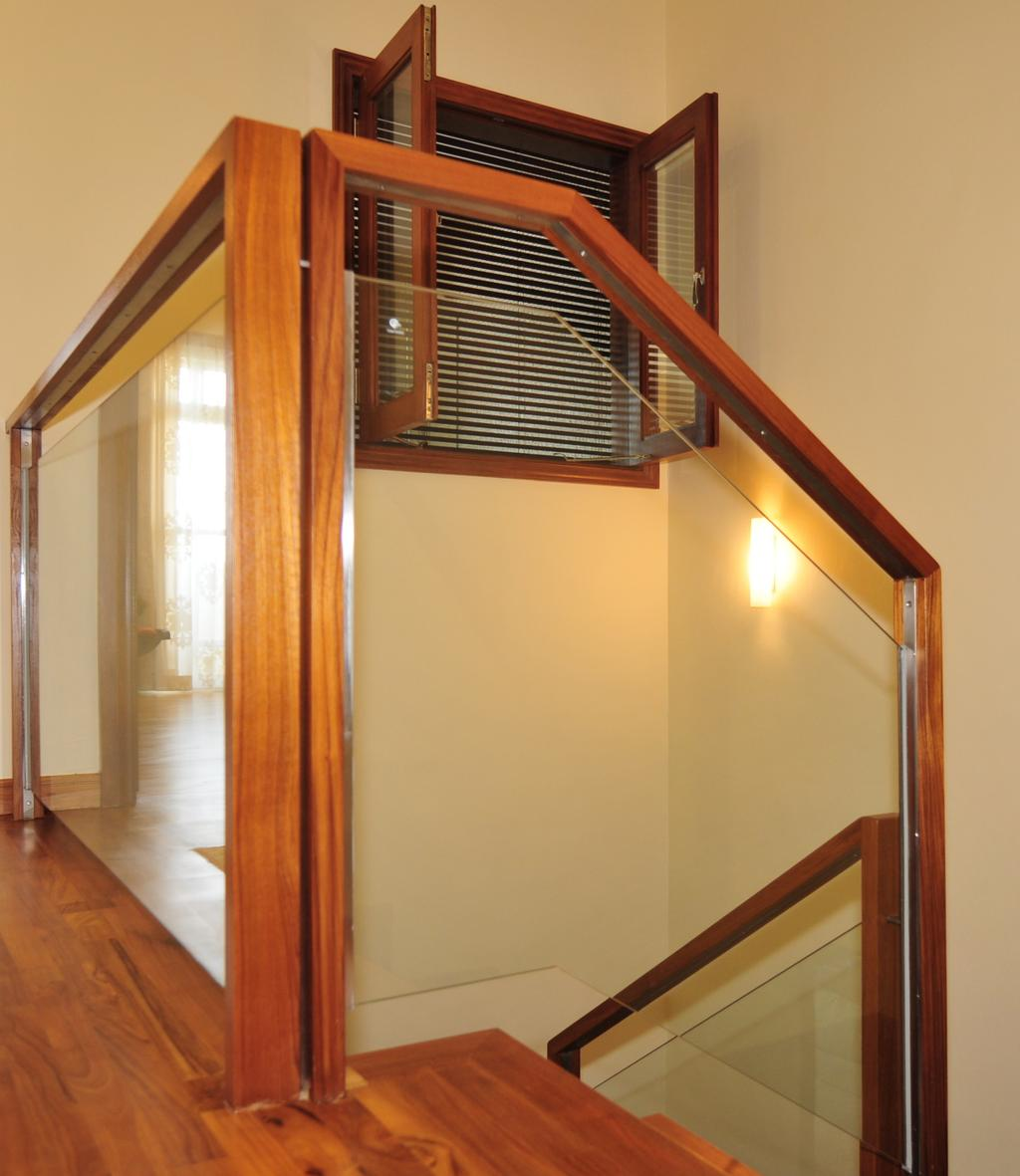 Transitional, Landed, Greenwood Avenue, Interior Designer, Seven Heaven, Banister, Handrail, Staircase