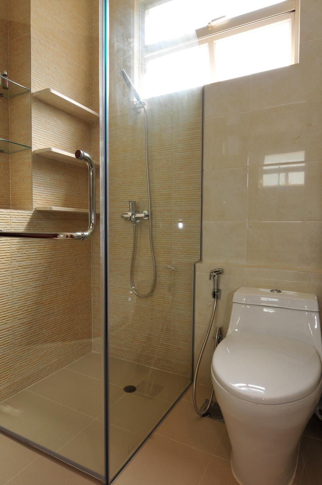 Transitional, Landed, Bathroom, Greenwood Avenue, Interior Designer, Seven Heaven, Indoors, Interior Design, Room
