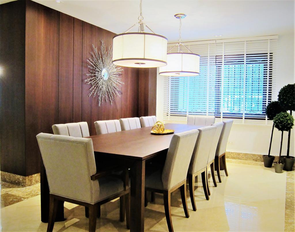 Modern, Landed, Dining Room, Watten Heights, Interior Designer, Designe Couture