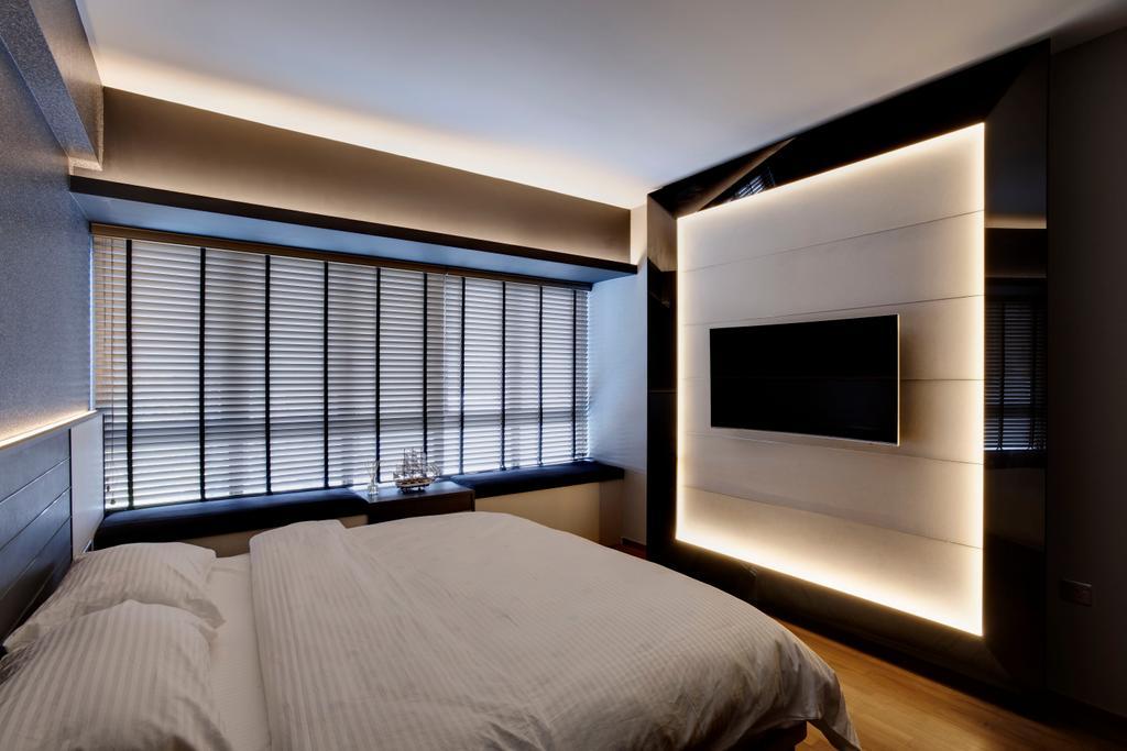 Modern, Condo, Bedroom, Meadows @ Peirce, Interior Designer, Juz Interior, Scandinavian, Siding