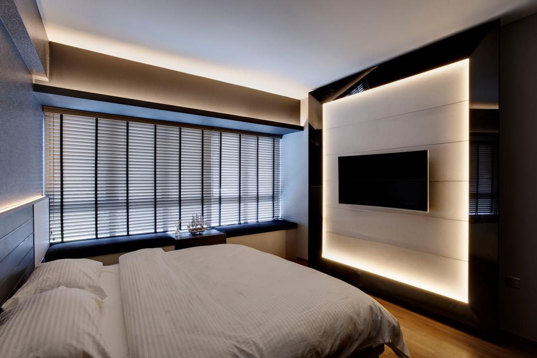 Meadows @ Peirce, Juz Interior, Modern, Scandinavian, Bedroom, Condo, Siding