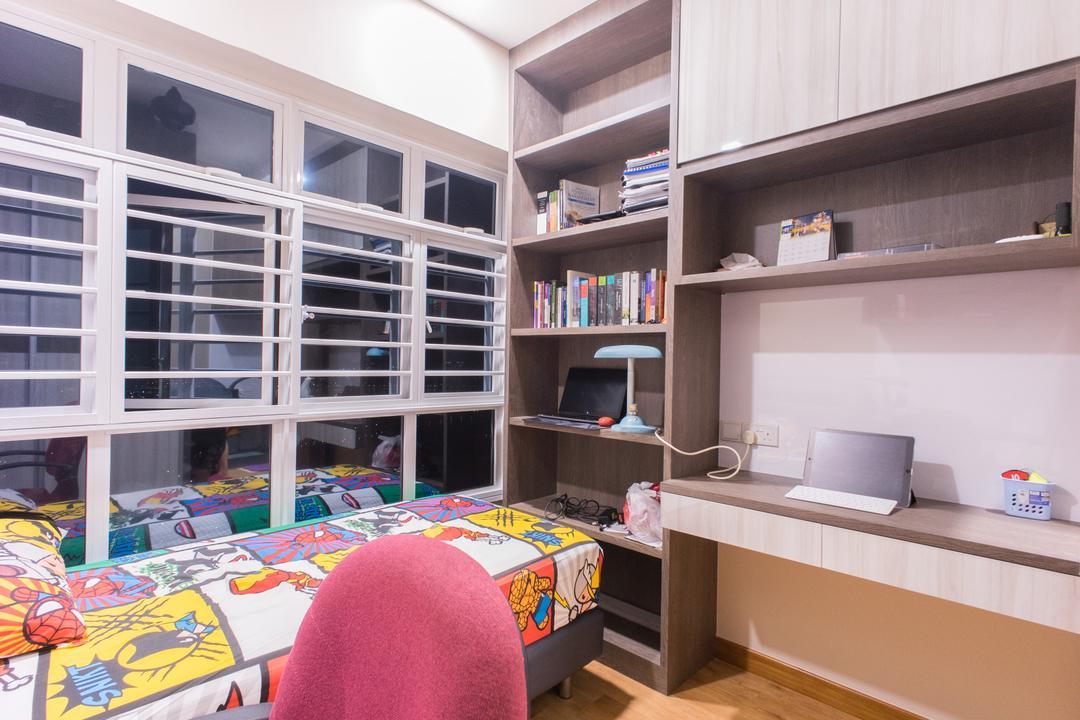 Upper Boon Keng Road (Block 8B), Team Interior Design, Contemporary, Bedroom, HDB, Home Decor, Quilt