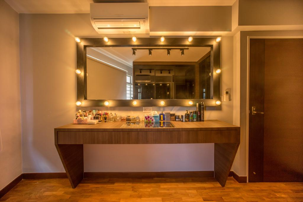 Minimalistic, HDB, Bedroom, Compassvale Drive (Block 275A), Interior Designer, Team Interior Design