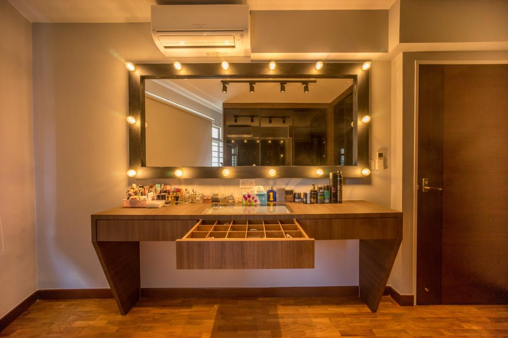 Minimalistic, HDB, Bedroom, Compassvale Drive (Block 275A), Interior Designer, Team Interior Design, Indoors, Interior Design