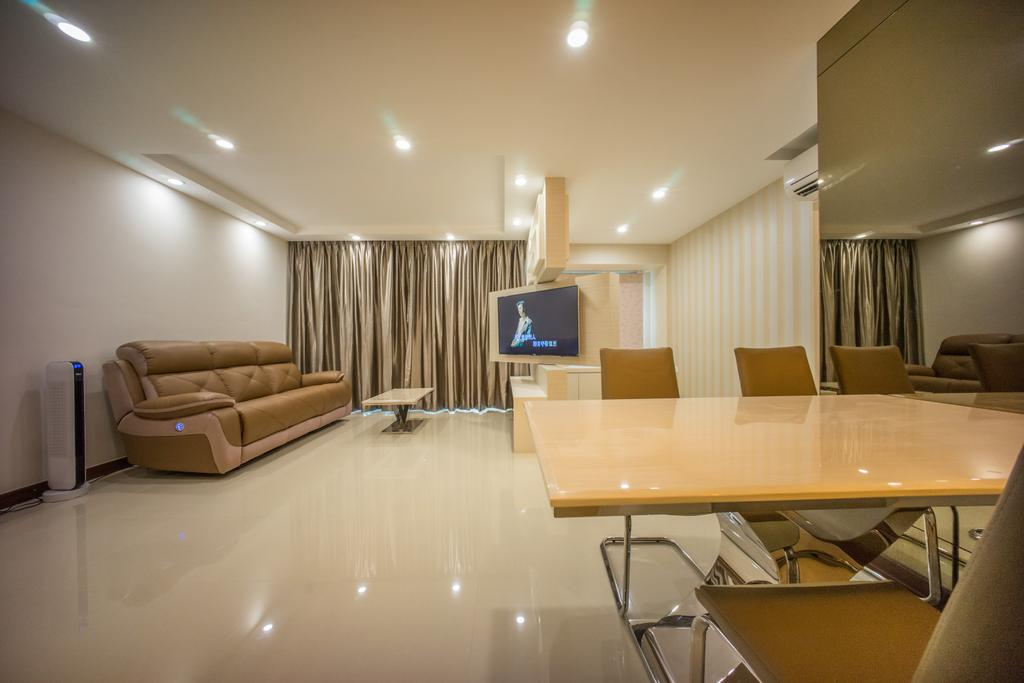 Contemporary, HDB, Dining Room, Punggol Drive (Block 677C), Interior Designer, Team Interior Design, Conference Room, Indoors, Meeting Room, Room, Chair, Furniture