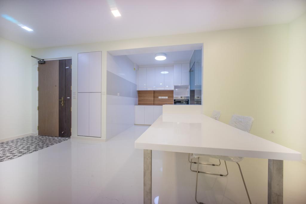 Minimalistic, HDB, Dining Room, Compassvale Bow (Block 275A), Interior Designer, Team Interior Design