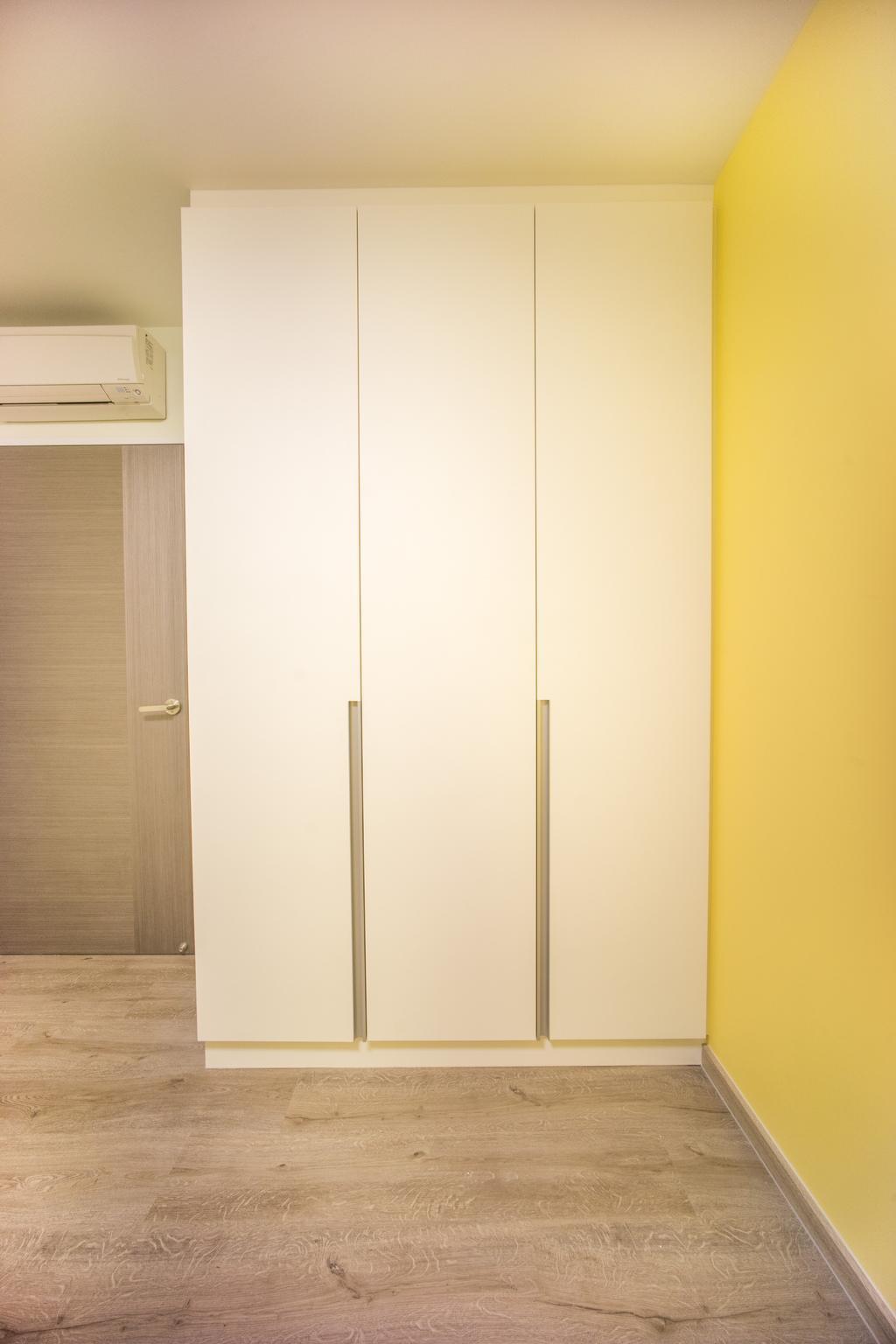 Minimalistic, HDB, Bedroom, Compassvale Bow (Block 275A), Interior Designer, Team Interior Design