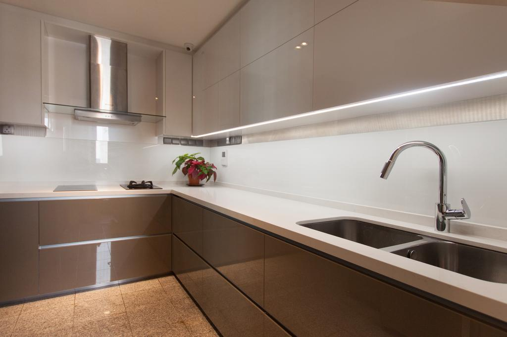 Modern, Condo, Kitchen, Cuscaden Residence, Interior Designer, Space Atelier, Scandinavian