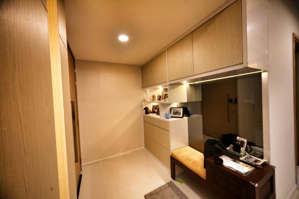 Contemporary, Condo, Living Room, Punggol, Interior Designer, Interior Diary, Indoors, Interior Design, Bathroom, Room