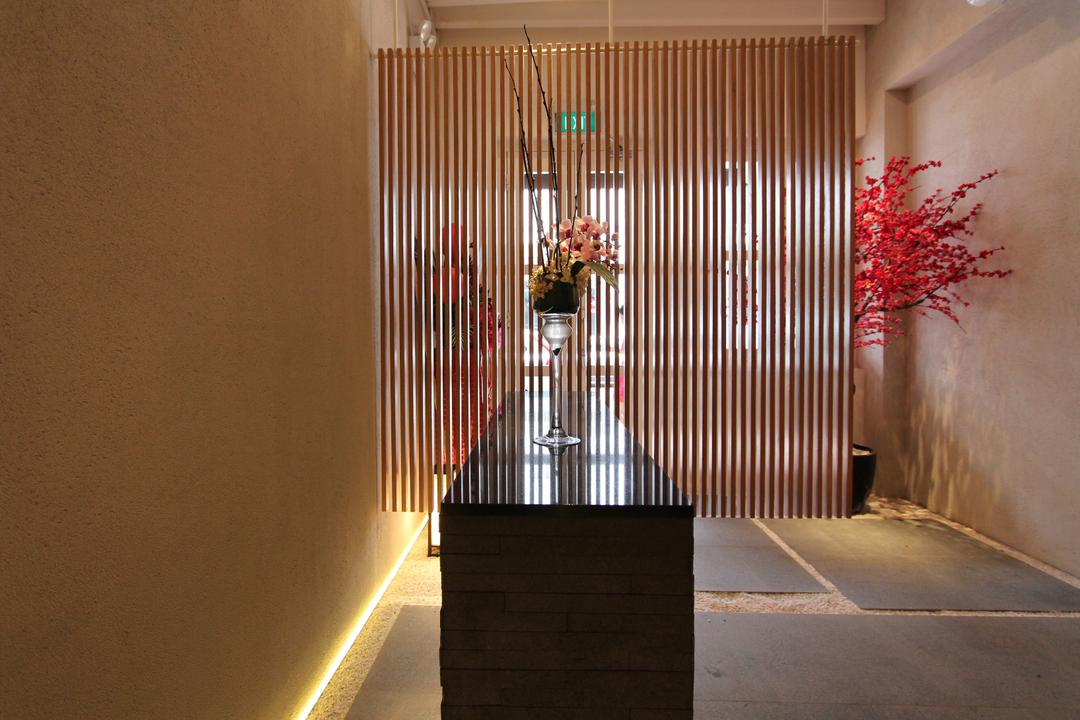 Sushi Mitsuya Restaurant, EHKA Studio, Minimalistic, Commercial, Blossom, Cherry Blossom, Flora, Flower, Plant
