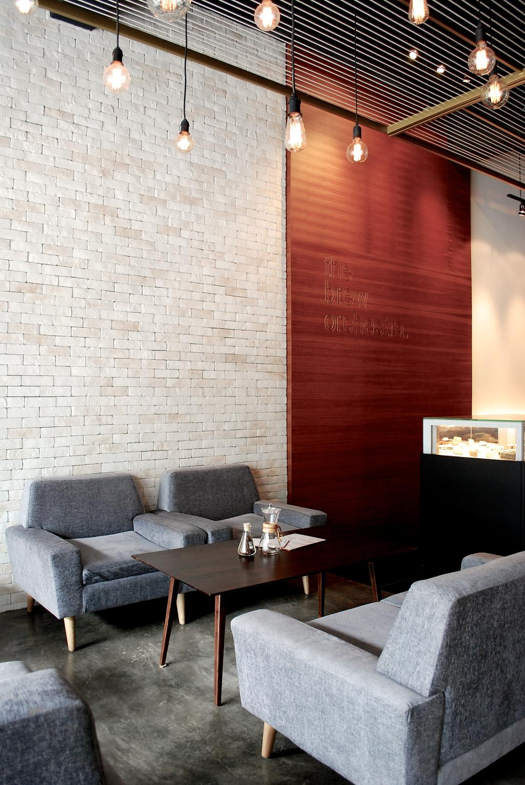 The Brew Orchestra, Commercial, Architect, EHKA Studio, Industrial, Couch, Furniture, Chair